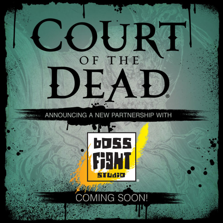 Court of the Dead Action Figures Coming from Boss Fight Studio in 2020