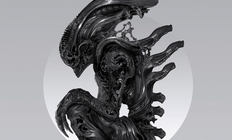 Artist Nekro Captures the Evolution of the Xenomorph in the Alien: Perfect Specimen Fine Art Print
