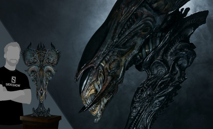 Crown Your Alien Collection with the Alien Queen Mythos Legendary Scale™ Bust