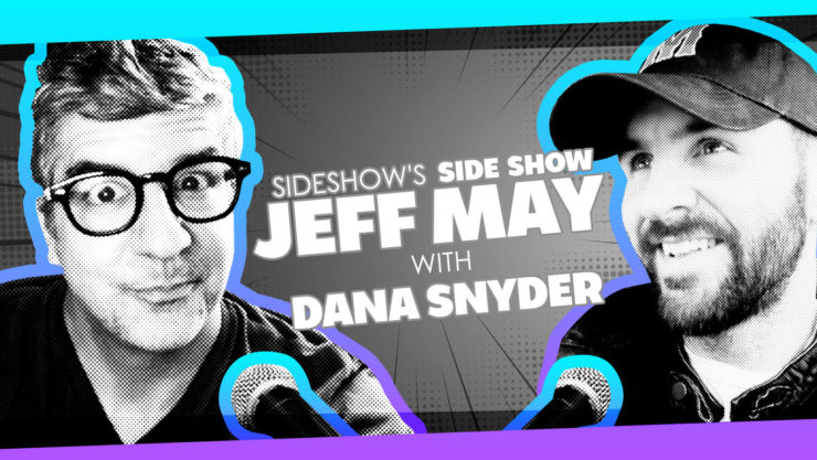 Aqua Teen Hunger Force Actor Dana Snyder Joins Jeff May for Sideshow's Side Show!