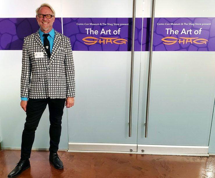 Josh Agle- Artist Shag Gallery at the Comic-Con Museum in Balboa Park