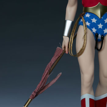 Wonder Woman Sixth Scale Figure Exclusive Edition Close Up on Spear