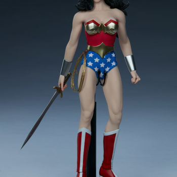 Wonder Woman Sixth Scale Figure Full View with Sword