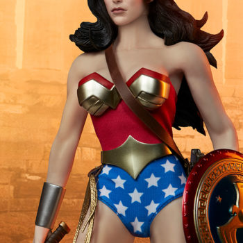 Wonder Woman Sixth Scale Figure with Dramatic Background