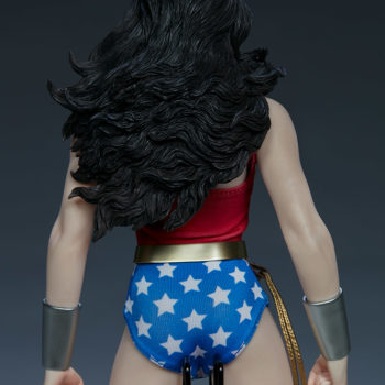 Wonder Woman Sixth Scale Figure Back of Figure View