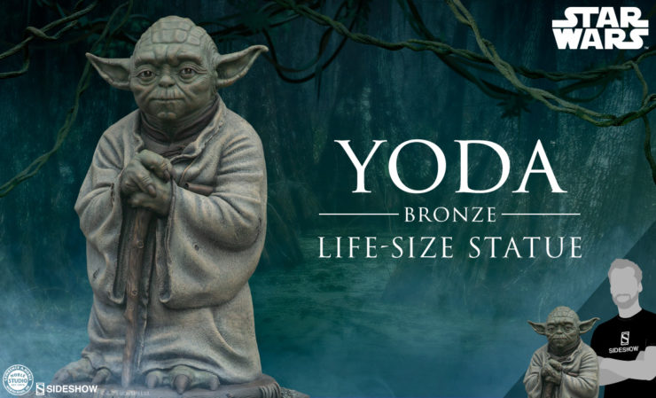 Sculptor Lawrence Noble and the Guidance of Yoda