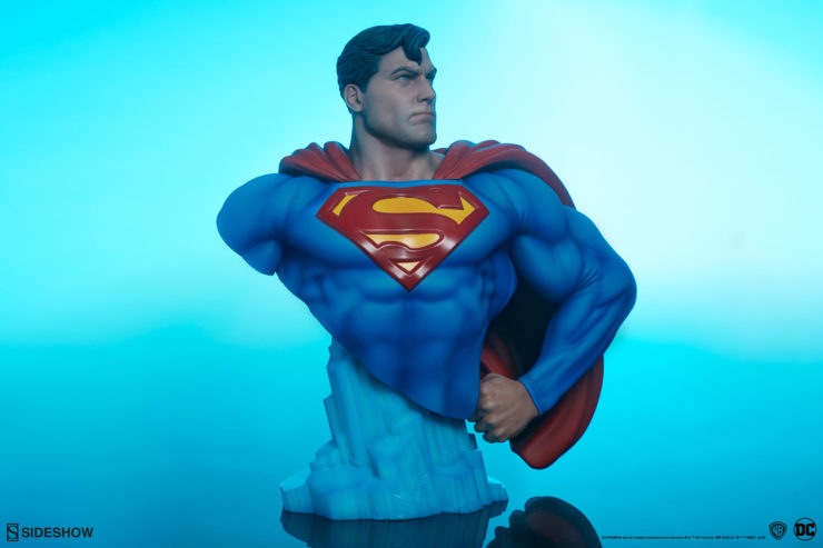 Hope Is Chiseled Into the New Superman Bust!