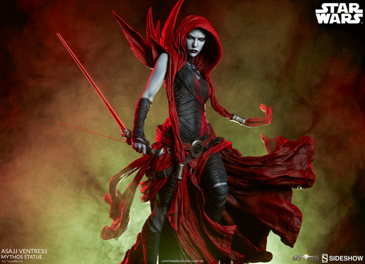The Asajj Ventress Star Wars Mythos Statue Is Truly Magick
