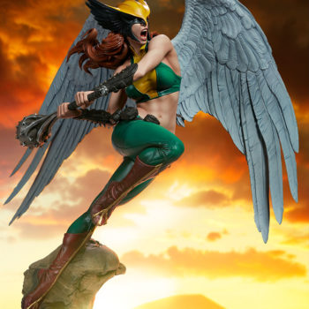 Hawkgirl Premium Format™ Figure with Dramatic Lighting 3