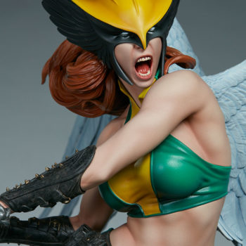 Hawkgirl Premium Format™ Figure Portrait Close Up 1