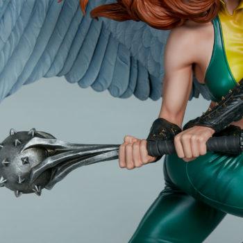 Hawkgirl Premium Format™ Figure Nth Metal Mace Close Up