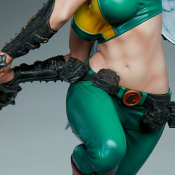 Hawkgirl Premium Format™ Figure Midriff and Torso Detail Shot