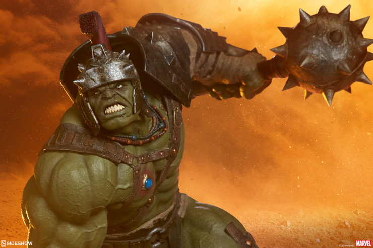 Earth-Shattering New Photos of the Gladiator Hulk Maquette!