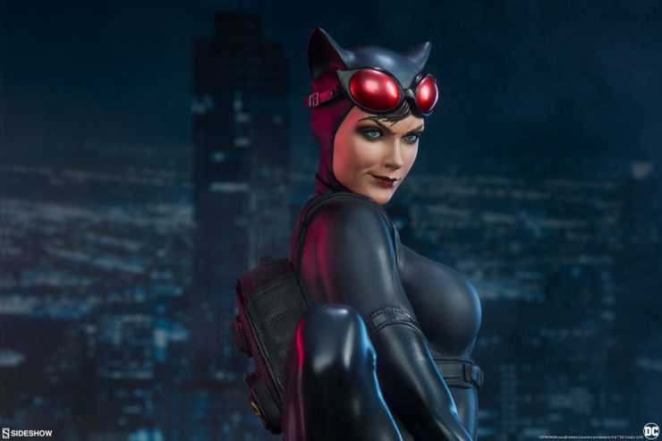 Steal a Glance at These New Photos of the Catwoman Premium Format™ Figure!