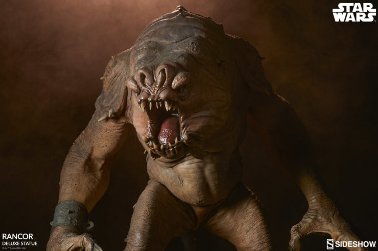 Wrangle the Rancor Deluxe Statue into Your Palace of Star Wars Collectibles