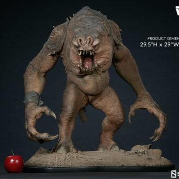 """Rancor Deluxe Statue Measurements- 29.5""""H x 29""""Wx 20""""D"""