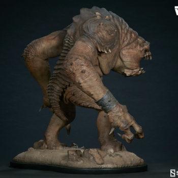 Rancor Deluxe Statue Open Lit Turnaround 3