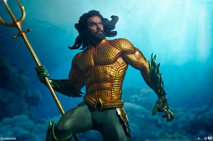 New Seaworthy Photos of the Aquaman Premium Format™ Figure!