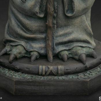 Yoda Bronze Life-Size Figure close up on feet