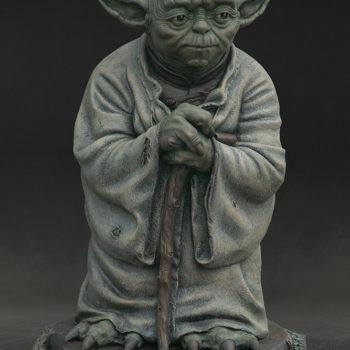 Yoda Bronze Life-Size Figure fill figure facing forward