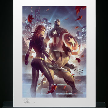 Uncanny X-Men Fine Art Print by Alex Garner Unframed Edition