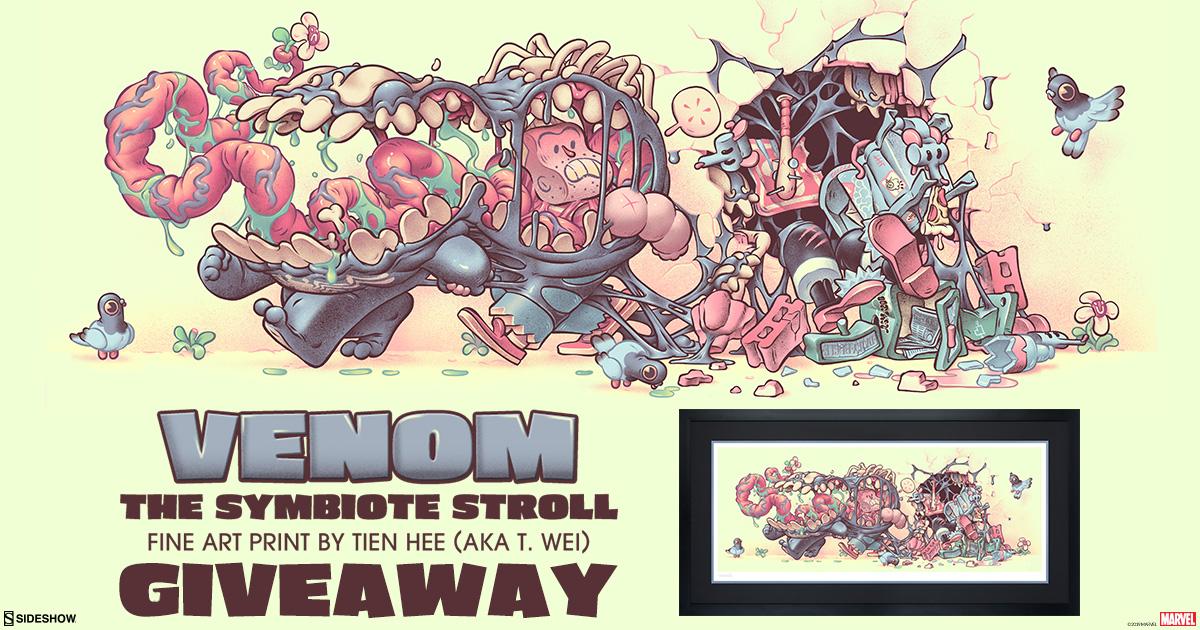 Venom: The Symbiote Stroll Print Giveaway