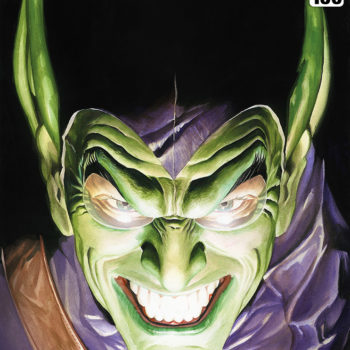 Spider-Man: Portraits of Heroism & Green Goblin: Portraits of Villainy Fine Art Lithograph Set by Alex Ross- Green Goblin Portrait