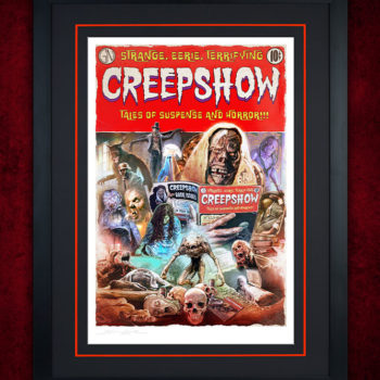 Creepshow Fine Art Print by Brian Rood Black Framed Edition