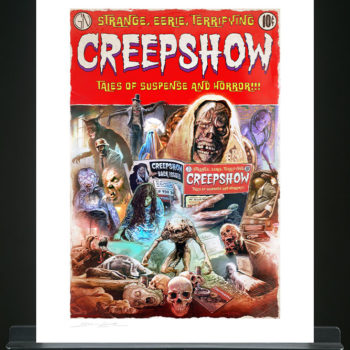 Creepshow Fine Art Print by Brian Rood Unframed Edition