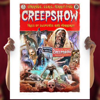 Creepshow Fine Art Print by Brian Rood Unframed Edition in Open Light