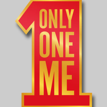 Singles' Day Pin- Only One Me