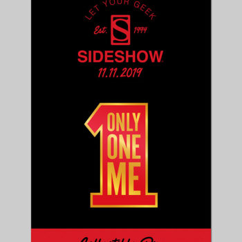 Singles' Day Pin- Only One Me on Pin Backer Card