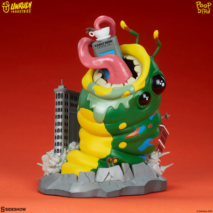 "New Photos of the Wrath of Wormzilla Designer Toy by Mike ""Poopbird"" Groves from Unruly Industries!"