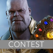 Thanos Sixth Scale Figure Newsletter Giveaway