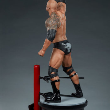 The Rock 1:4 Scale Statue by PCS Collectibles Modern Torso Turnaround 1