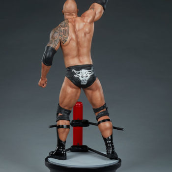 The Rock 1:4 Scale Statue by PCS Collectibles Modern Torso Turnaround 2