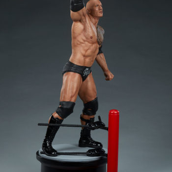 The Rock 1:4 Scale Statue by PCS Collectibles Modern Torso Turnaround 3