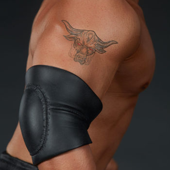 The Rock 1:4 Scale Statue by PCS Collectibles Classic Torso Bull Tattoo Close Up 2