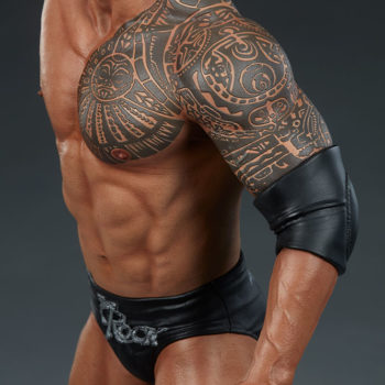 The Rock 1:4 Scale Statue by PCS Collectibles Modern Torso Tattoo Detailing 1