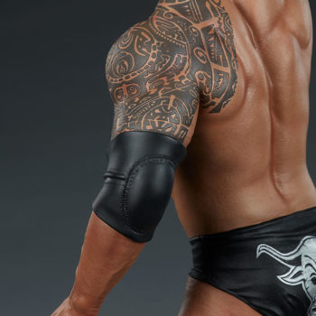 The Rock 1:4 Scale Statue by PCS Collectibles Modern Torso Tattoo Detailing 2