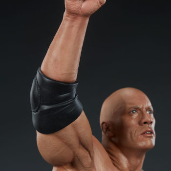 The Rock 1:4 Scale Statue by PCS Collectibles Modern Torso Upper Arm Close Up 1
