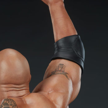 The Rock 1:4 Scale Statue by PCS Collectibles Modern Torso Upper Arm Close Up 2