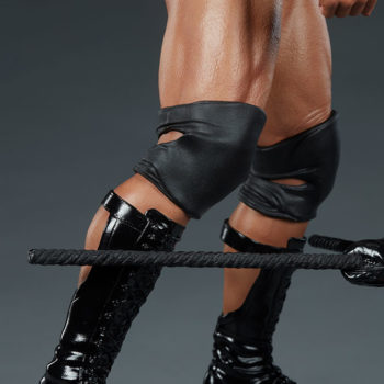 The Rock 1:4 Scale Statue by PCS Collectibles Legs and Boots Detail 1