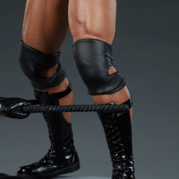 The Rock 1:4 Scale Statue by PCS Collectibles Legs and Boots Detail 2