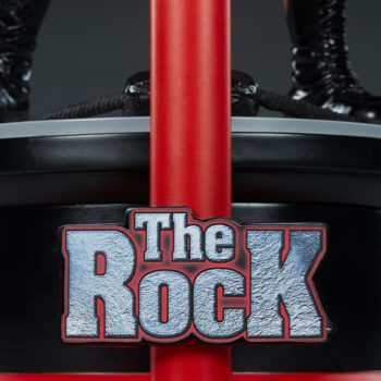 The Rock 1:4 Scale Statue by PCS Collectibles The Rock Name Logo on Base