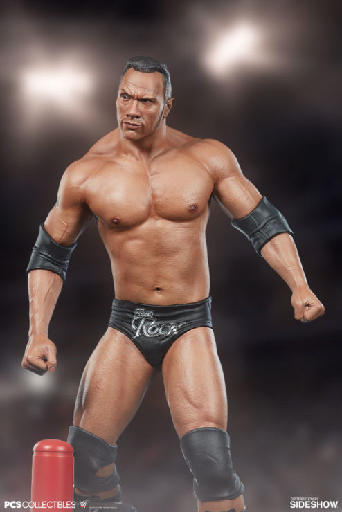 The Rock 1:4 Scale Statue by PCS Collectibles Classic Torso Drama Shot