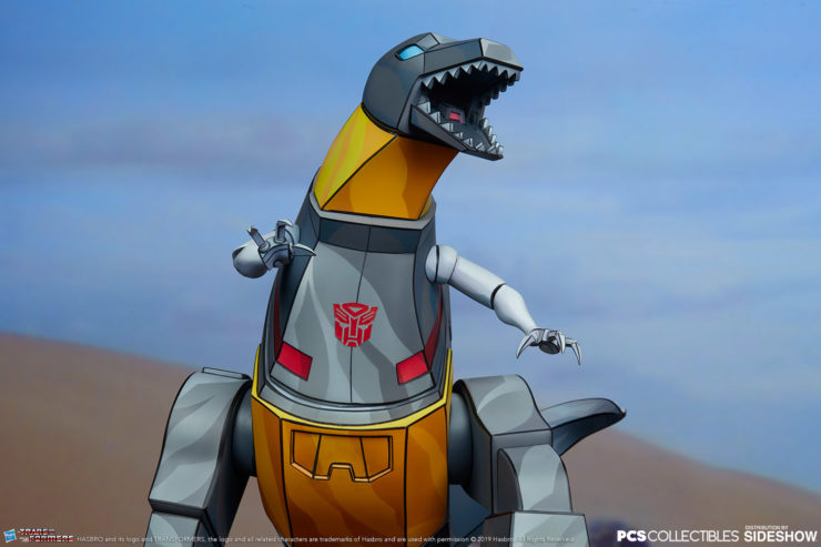 Bite Into the Grimlock Generation 1 Classic Scale Statue from PCS Collectibles!