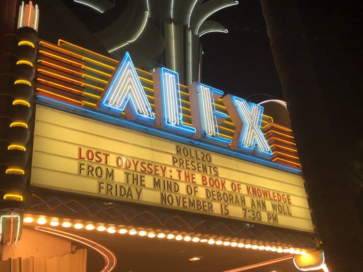 Lost Odyssey: The Book of Knowledge at the Alex Theater in Glendale