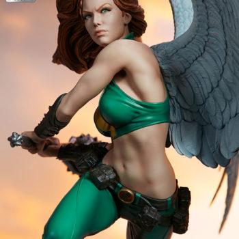 Hawkgirl Premium Format™ Figure Exclusive Edition Unhelmeted Portrait 3