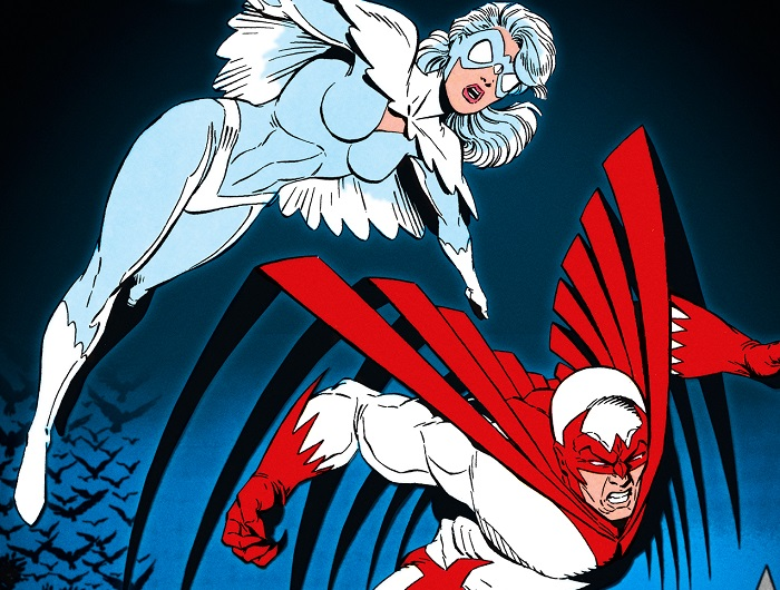 Top 10 Bird-Themed Comic Book Characters- Hawk and Dove